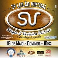 Maio terá mais uma edição do Leilão Virtual SV